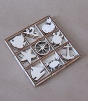 Набор «Морской» элементы из дерева