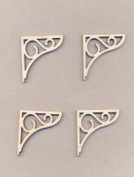 Уголки накладные «Узор №8» из фанеры