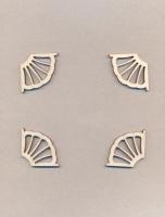 Уголки накладные «Узор №7» из фанеры