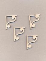 Уголки накладные «Узор №5» из фанеры