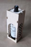 Короб для вина ажурный S4 Заготовка