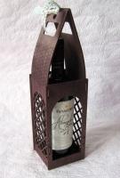 Короб-сумка для вина S5 Морилка
