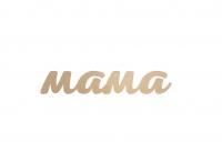 Чипборд «Мама» из фанеры