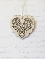 Подвеска «Сердце с розами»
