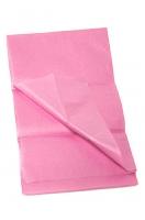 Бумага тишью однотонная нежно-розовая