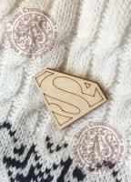 Заготовка «Супермен» значок