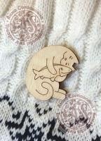 Заготовка «Моя любимая рыбка» значок