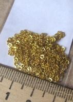 Цепочка золотистая мелкая