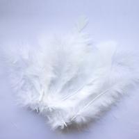 Перья белые натуральные