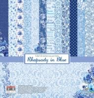 Набор бумаги «Ноктюрн в голубых тонах»