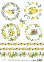 Карта «Лимоны (миниатюры)»