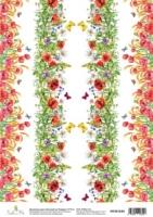 Карта «Цветущий луг. Бордюр»