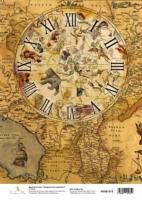 Карта «Звездный атлас. Циферблат»