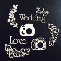 Чипборд «День Свадьбы»