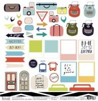 Лист «Я путешествую! На чемоданах»
