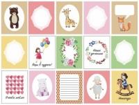 Набор карточек «Девчонки»