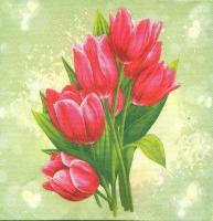 Салфетка «Тюльпаны» №758
