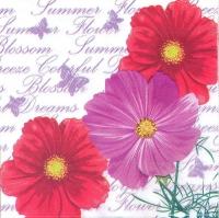 Салфетка «Летние цветы» №759
