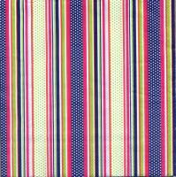Салфетка «Разноцветные полоски» №764