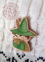 Значок «Снусмумрик» деревянный
