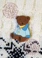 Значок «Мой друг Медвежонок» деревянный