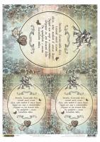 Рисовая карта «Молитва»