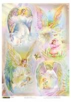 Рисовая карта «Ангелы»