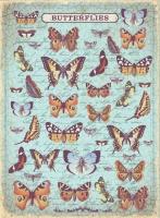 Рисовая карта «Бабочки»