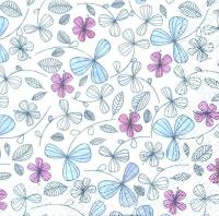 Салфетка «Нежные цветы» №770