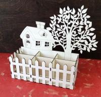 Карандашница «Дом под деревом»