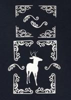 Чипборд «Королевские олени»