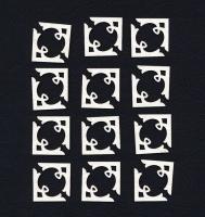 Чипборд «Уголки для фото и карточек №1»