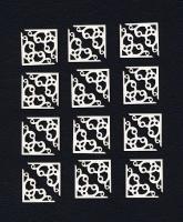 Чипборд «Уголки для фото и карточек №2»