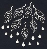Чипборд «Листья березы»