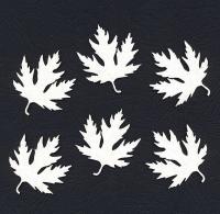 Чипборд «Листья клена»