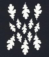 Чипборд «Листья дубовые»