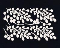 Чипборд «Зимние веточки с ягодами»