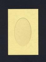 Заготовка для открыток «С окном. Кремовая» 1 шт.