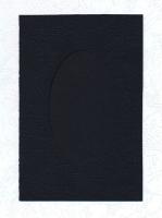 Заготовка для открыток «С окном. Черная» 1 шт.