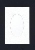Набор заготовок «Белый. А6 с окном» для открыток