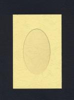 Набор заготовок «Кремовый. А6 с окном» для открыток
