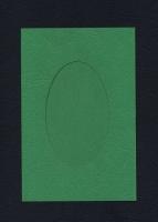 Набор заготовок «Зеленый. А6 с окном» для открыток
