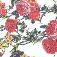 Салфетка «Узор из роз» для декупажа