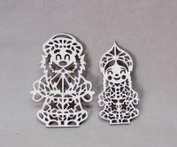 Набор «Дед Мороз и снегурочка» №2