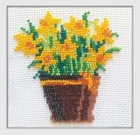 Набор для вышивания бисером «Нарцисс»