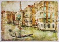 Декупажная карта «Венеция»