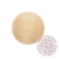 Деревянное донышко «Круг» для корзины 40 см