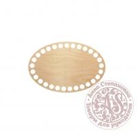 Деревянное донышко «Овал» для корзины 10х15 см