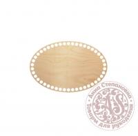 Деревянное донышко «Овал» для корзины 15х22,5 см