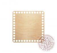 Деревянное донышко «Квадрат» для корзины 15х15 см